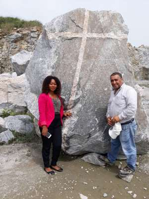 Mysterious Christ Cross Stone Found In Ghana