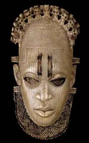 Queen-Mother Idia, Benin, Nigeria, now in British Museum, London, United Kingdom.
