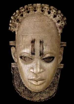 Queen-mother Idia, Benin Nigeria, now in British Museum, London ,United Kingdom.