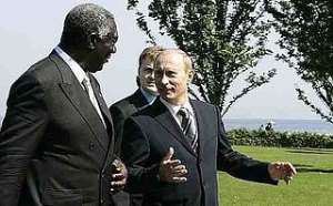 Russians looking for a handshake from Nana Akufo-Addo