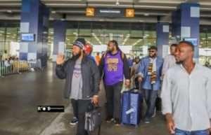 Morgan Heritage arrive in Ghana ahead of Bhim Concert tomorrow