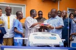Asenso-Boakye Donates 20 Hospital Beds To Komfo Anokye Teaching Hospital