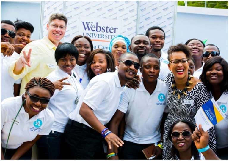 Photo credit: Webster University, Ghana