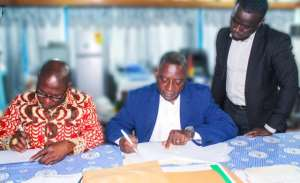 Infrastructure, Skills Training Support Agreement Signed At Sekondi College