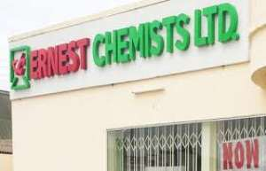 Kwahu Government Hospital Receives Support From Ernest Chemists Ltd