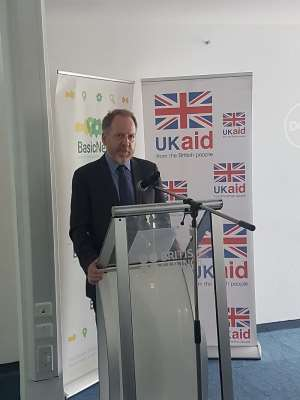 Country Director of DFID, Philip Smith