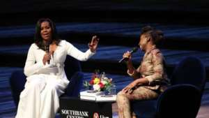 Michelle Obama In London, Holds Q&A Session With Chimamanda