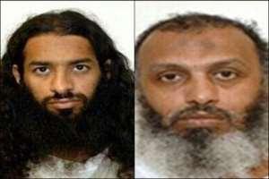 [L-R] Khalid Muhammad Salih Al-Dhuby and Mahmud Umar Muhammad Bin Atef