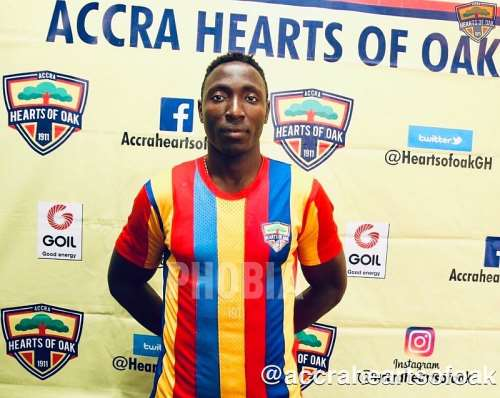 Hearts of Oak striker Kofi Kordzi eyes Special Competition goal king gong