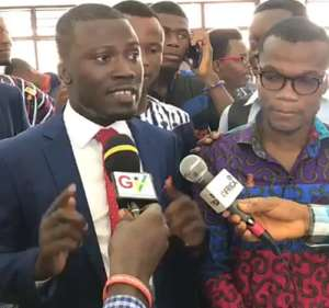 NUGS President Elect, Mr Amoakohene Frank