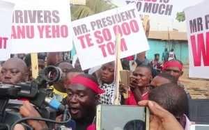 Demo: COPEC, Drivers to Pressurize Govt to Reduce Fuel Price
