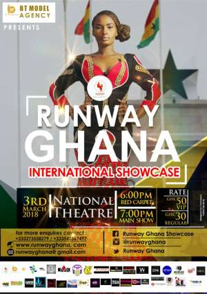 Runway Ghana International Showcase 2018