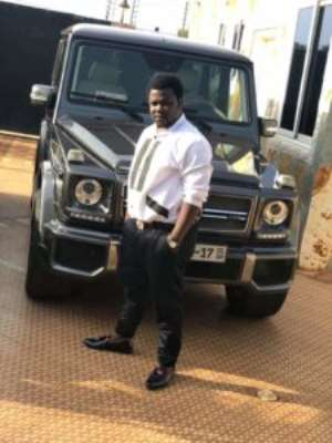 Patapaa's Manager FreeBody  storms social media  with his latest  G-Wagon