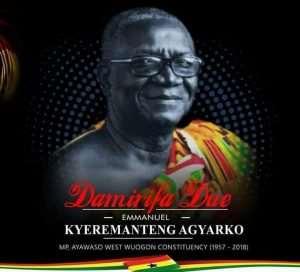 Emmanuel Kyeremanteng Agyarko; A True Man Of The People