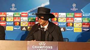 Why Shakhtar Manager Dressed Up As Zorro After Win Over Man City