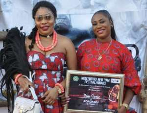 Actress, Doris Ogala Honoured with Chieftaincy Title, Turns a Year older