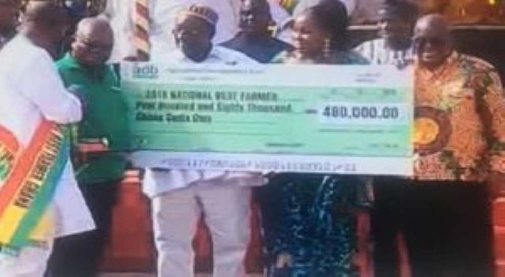 Brong Ahafo Farmer Emerges 2018 National Best Farmer