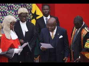 Speaker Oquaye Takes Oath Again To Act As President