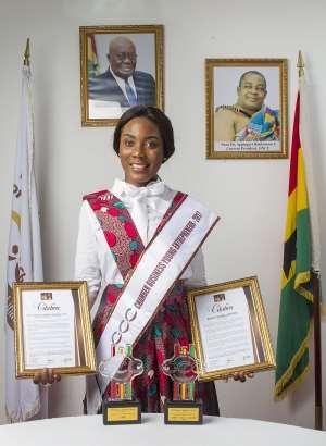 Akila Ghana Wins Two Awards At G.N.C.C.I. Awards