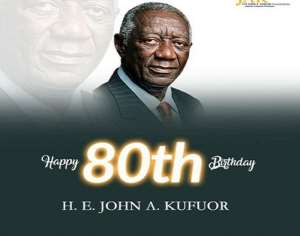 Ghanaians Eulogies Kufour As He Turns 80