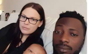 Nigerians Singer, Mr May D's Baby growing Fast