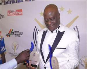 Dr Felix Anyah is adjudged as the Most Respected CEO at the Ghana Industry CEO Awards 2018
