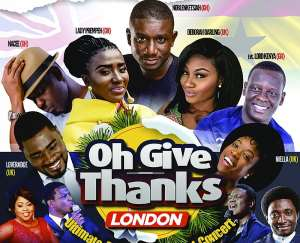 """Gracepoint wraps up 2018 with """"Oh Give Thanks London"""" Gospel Festival"""