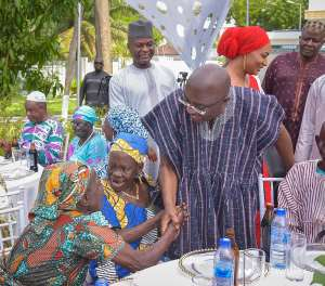 Cured Lepers Federation and  Dr Mahamudu Bawumia