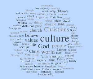 The Parallel of Today's Christian Values To Cultural Values