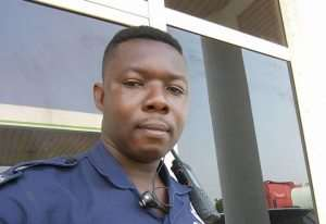 Ghana Police Service Yet To Decide The Fate Of 'Woman Beater' Police Officer