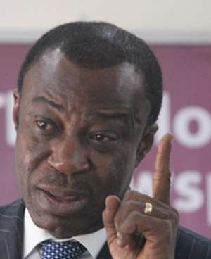 We want results - Dr Akoto Osei