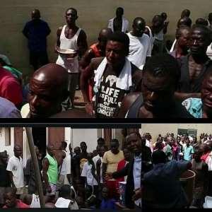 Ambassador Extraordinaire Gives Food To Nsawam, Kumasi Prisoners