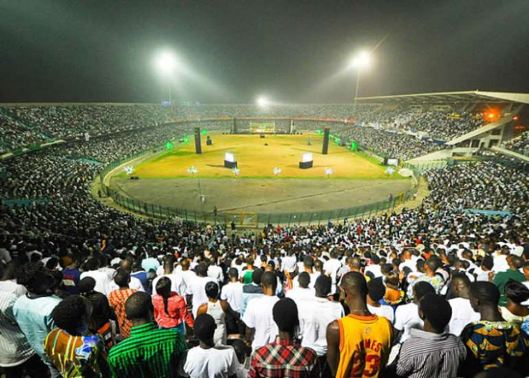 13 thousands throug the accra sports stadium during this years 31st dec crossover