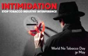 The Cloud Of Tobacco Smoke Is Choking The World