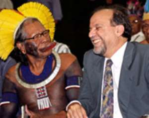 Brazil's indigenous people fight for power
