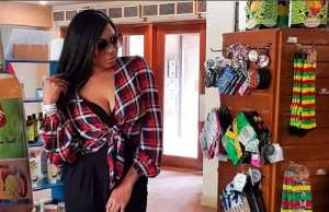 After Harvard Graduation, Actress, Chika Ike Spoils Herself in Jamaica