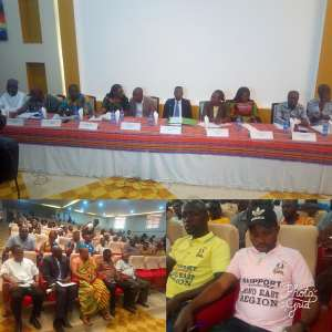 Commission Of Inquiry Begins First Phase Of Public Hearing On Creation Of  Bono East Region