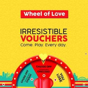 Spoil Yourself This Valentine With Wheel Of Love Goodies On Jumia