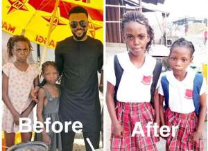 Actor, Williams Uche Mba Shares Photos of Students on his Scholarship Scheme
