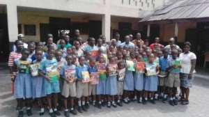 Schools In Odododiodio Get Support From Amerley Adjaidoo Foundation