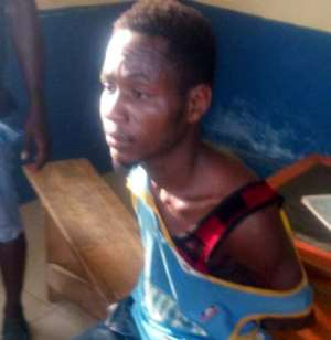 Man Carrying Young Boy's Head Arrested
