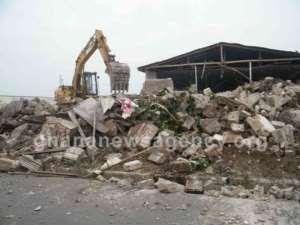 Effutu Undertakes Demolition Exercise