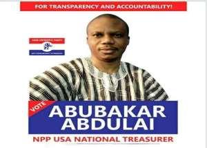 Abubakar Abadulai Eyes the NPP-USA National Treasurer Position