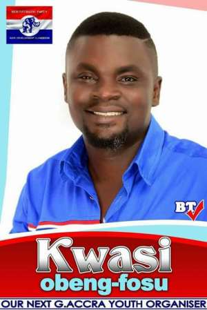 Kwasi Obeng-Fosu, An Impeccable Choice For The Greater Accra Regional Youth Organizer Position!