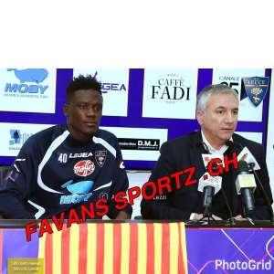 Serie C Side US Lecce Unveil Ghanaian International Ransford Selasi