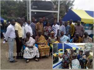 3 Communities In North Tongu Get Mechanised Borehole From VRA