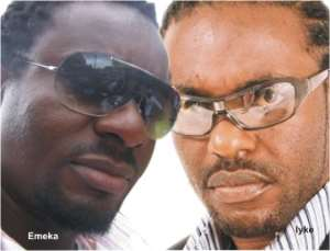 Jim Iyke and Emeka Ike