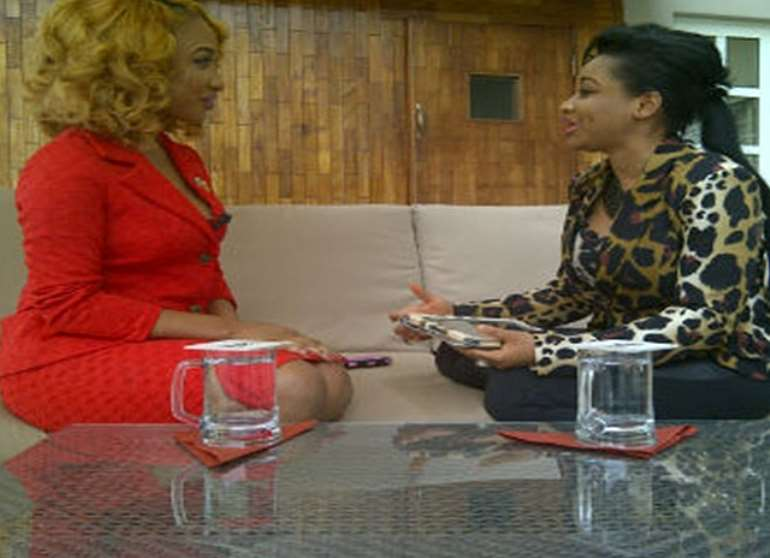 Tonto Dikeh with Princess Halliday