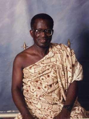 Honorable Mr. Justice N. Y. B. Adade has Passed On