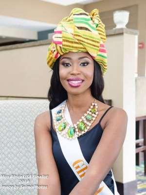 Miss Africa USA Finalist-Ghana Delegate